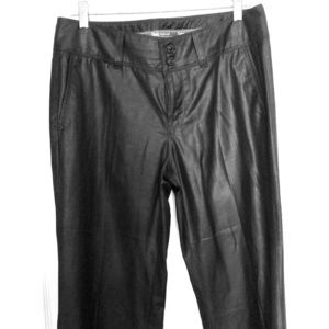 Seven faux leather Bellbottom Pants